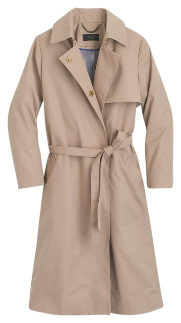 Item - Tan Belted Trench 0 Coat Size 0 (XS)