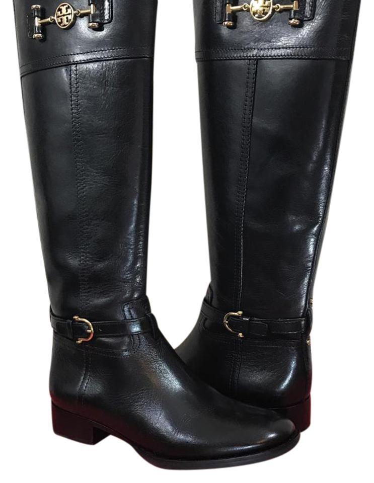cc00976fdab9 Tory Burch Nadine Riding Boots Booties Size US 8.5 Regular (M