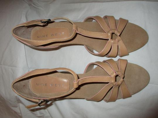 Nine West T-strap Sandal Pbo tan Pumps Image 4