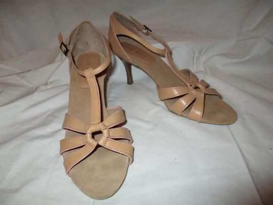 Nine West T-strap Sandal Pbo tan Pumps Image 7