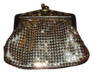 Whiting & Davis Signed #2962 Vintage 60's-70's Whiting & Davis Gold Mesh Coin Purse