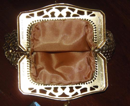 Whiting & Davis Signed #2962 Vintage 60's-70's Whiting & Davis Gold Mesh Coin Purse Image 1