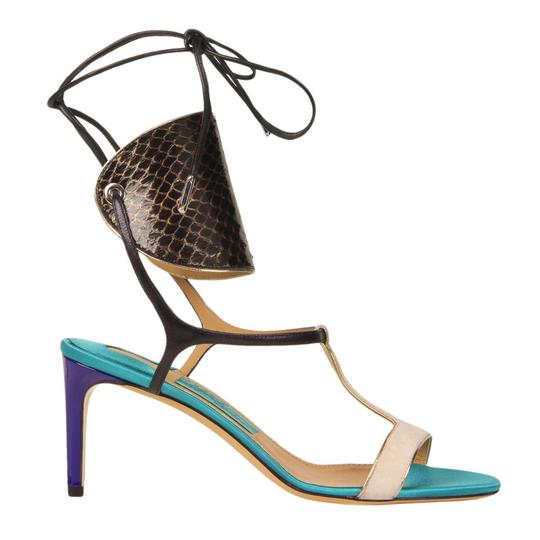 Salvatore Ferragamo Multi-Color Sandals Image 4