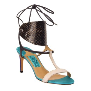 Salvatore Ferragamo Multi-Color Sandals