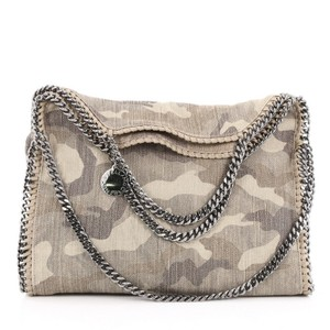 Stella McCartney Canvas Tote in Beige and Brown