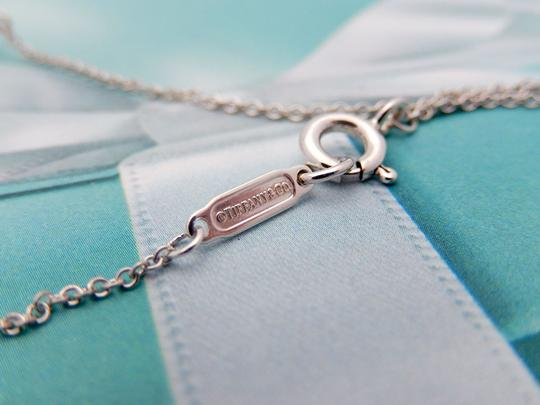 Tiffany & Co. Authentic Tiffany Sterling Silver LARGE Twisted Bow Pendant Necklace Image 6