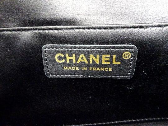 Chanel Quilted Ribbon Flap Clutch 220165 Image 3