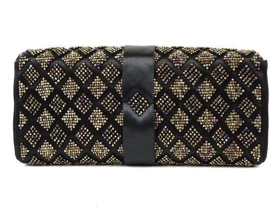 Chanel Quilted Ribbon Flap Clutch 220165 Image 6