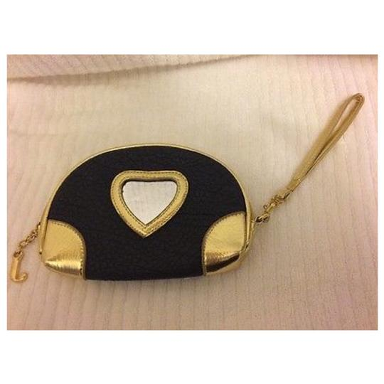 JUICY COUTURE Brown & Gold Clutch Image 1