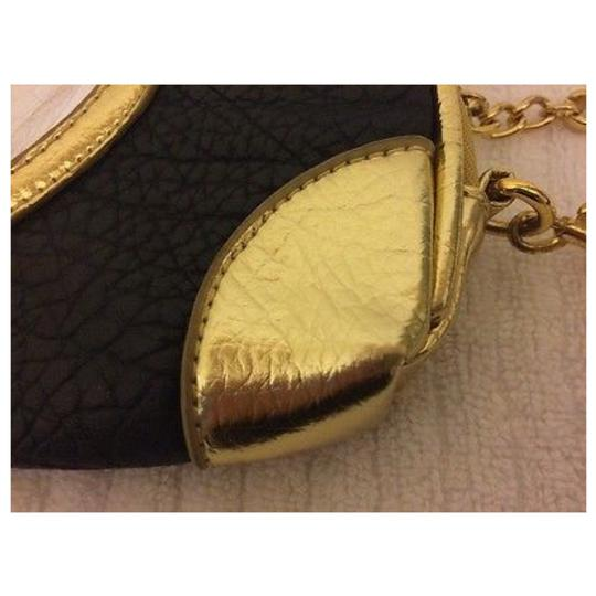 JUICY COUTURE Brown & Gold Clutch Image 3