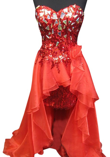 Item - Red 13688/ Long Formal Dress Size 4 (S)