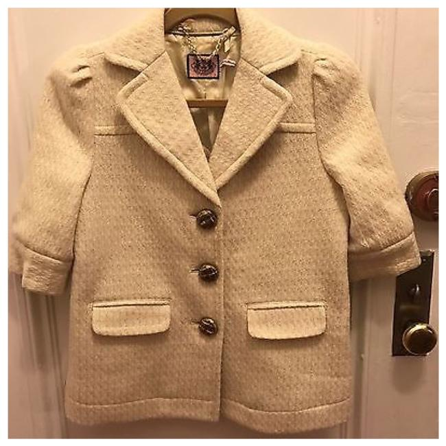Preload https://img-static.tradesy.com/item/21641003/juicy-couture-off-white-ivory-knit-wool-gold-button-suit-coat-blazer-size-2-xs-0-0-650-650.jpg