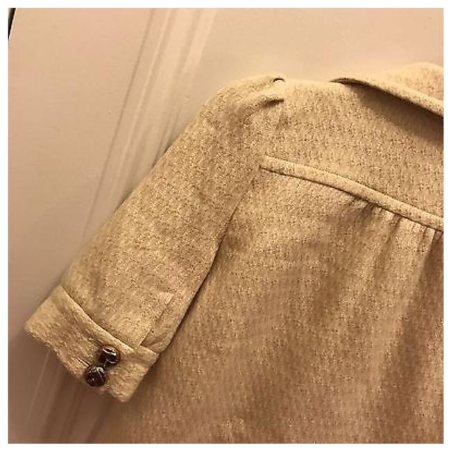 JUICY COUTURE Off White Ivory Blazer Image 4
