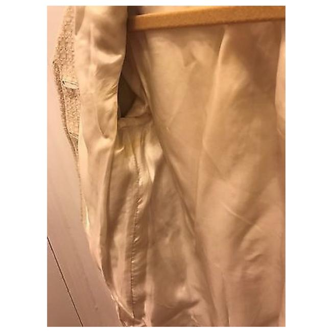 JUICY COUTURE Off White Ivory Blazer Image 7