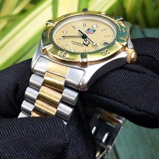 TAG Heuer sale!!Tag Heuer Professional Two Tone Watch. Image 8
