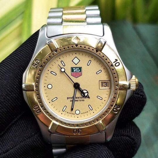TAG Heuer sale!!Tag Heuer Professional Two Tone Watch. Image 9