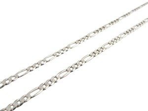 Other 3mm Figaro Chain in 14k White Gold
