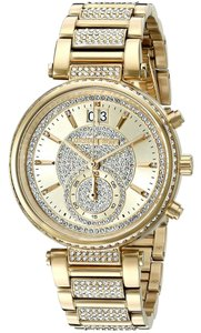 Michael Kors Michael Kors 2 In 1 Collection Sawyer Goldtone Stainless Steel Watch