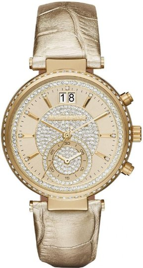 Michael Kors Michael Kors 2 In 1 Collection Sawyer Goldtone Stainless Steel Watch Image 1
