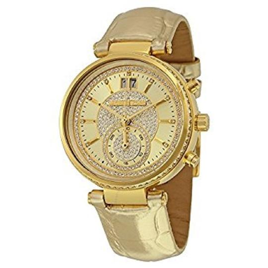 Michael Kors Michael Kors 2 In 1 Collection Sawyer Goldtone Stainless Steel Watch Image 2