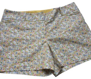 The Limited Dress Shorts yellow multicolor