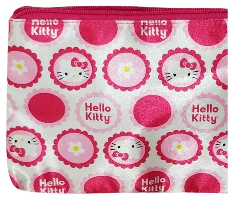 Hello Kitty Hello Kitty Pink Cosmetic Travel Pouch ... 2323f54a27