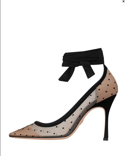 Dior 2017 Sold Out J'adior Christian Nude & black Pumps Image 1