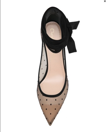 Dior 2017 Sold Out J'adior Christian Nude & black Pumps Image 2