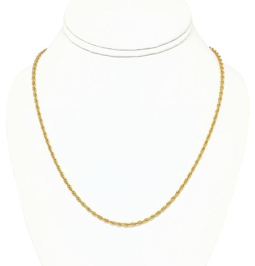 Preload https://img-static.tradesy.com/item/21642007/14k-rolled-gold-plate-sterling-silver-rope-necklace-0-1-540-540.jpg