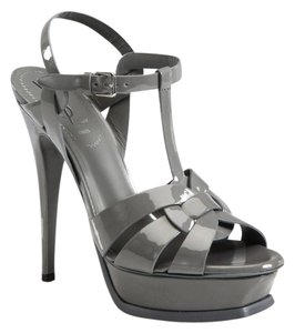 Saint Laurent Gray Platforms