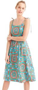 J.Crew short dress multi Drake's Tiled Tie 0 on Tradesy