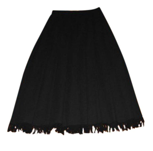 Preload https://img-static.tradesy.com/item/21642458/dana-buchman-black-new-wool-pleated-2-of-fringe-skirt-size-8-m-29-30-0-2-650-650.jpg