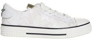 Valentino Studded Rockstud Sneaker Star Low Top White Athletic