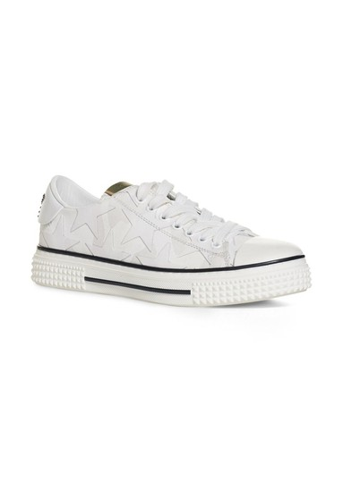 Valentino Studded Rockstud Sneaker Star Low Top White Athletic Image 1
