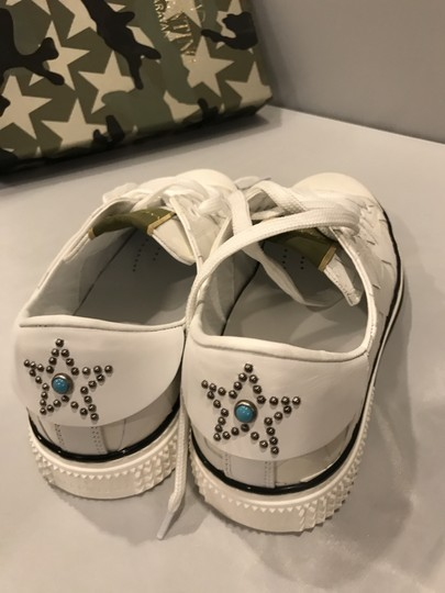 Valentino Studded Rockstud Sneaker Star Low Top White Athletic Image 2