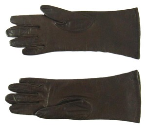 Hermès Size 6 Calf Leather Gloves