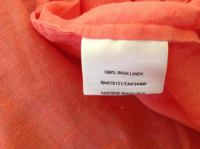 Eileen Fisher Button Down Shirt Coral Image 1