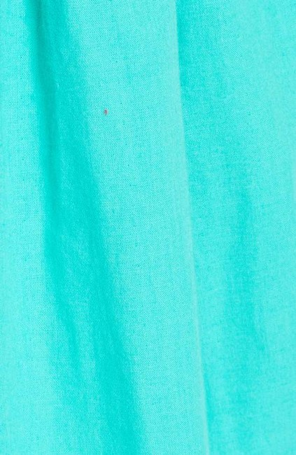 Free People short dress Caribbean green Cotton Halter V-neck Embroidered Scalloped on Tradesy Image 11