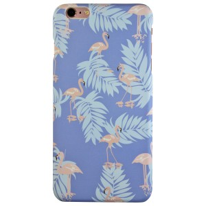 Sunology Sunology Hybrid PC Hard Plastic Shell iPhone 6 Case Flamingo Blue