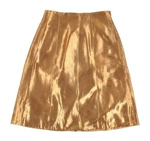 Ralph Lauren Label Metallic Skirt