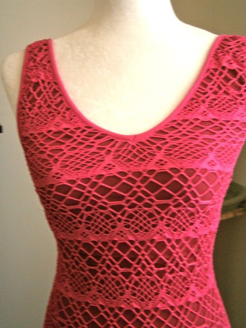 bebe short dress fushia pink on Tradesy Image 1