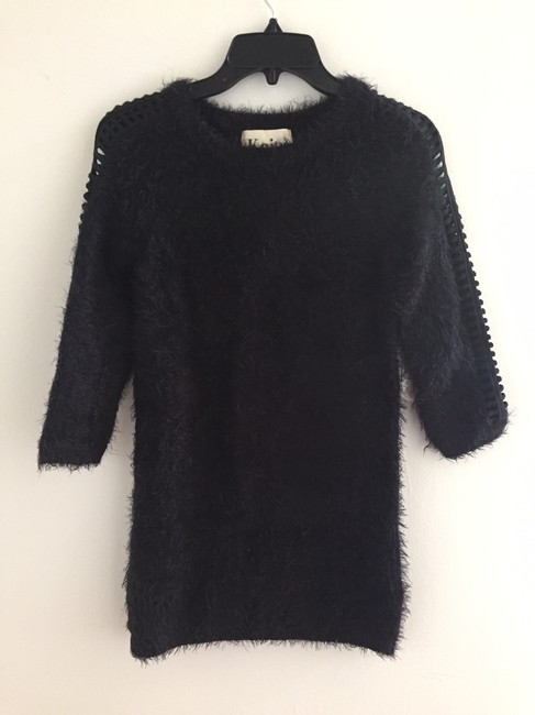 For Love & Lemons short dress Black Tunic Sweater Cocktail Cozy on Tradesy Image 7