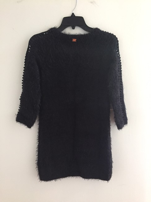 For Love & Lemons short dress Black Tunic Sweater Cocktail Cozy on Tradesy Image 9