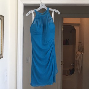 David's Bridal Oasis Imported Polyester F15612 Modern Bridesmaid/Mob Dress Size 8 (M)