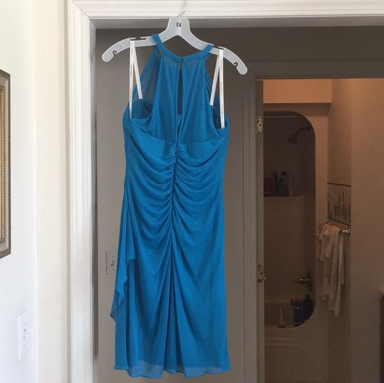David's Bridal Oasis Imported Polyester F15612 Modern Bridesmaid/Mob Dress Size 8 (M) Image 1