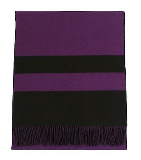 Ralph Lauren Ralph Lauren Purple Label Long Reversible Wool Scarf Wrap 12 X 97