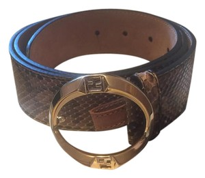 Fendi FENDI Limited EDITION PYTHON BELT