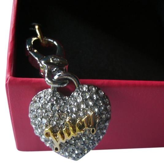 Juicy Couture Juicy Couture Crystal Pave Heart Charm YJRU7327