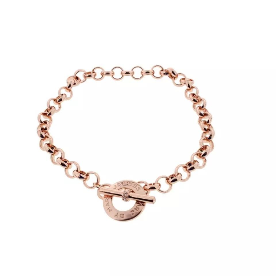 Marc by Marc Jacobs Rose Gold New Toggle Necklace - Tradesy