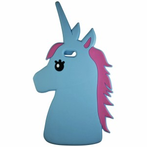 Sunology Sunology iPhone 7 Plus Unicorn Rubber Cases Blue